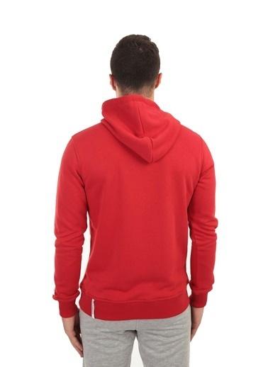 New Balance Erkek  Sweatshirt MPH023-CHRKIRMIZI Kırmızı